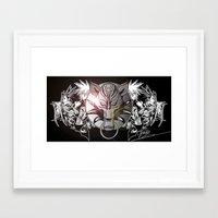 final fantasy Framed Art Prints featuring Final Fantasy by MatthewTew