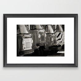 Forward Control Jeeps Framed Art Print
