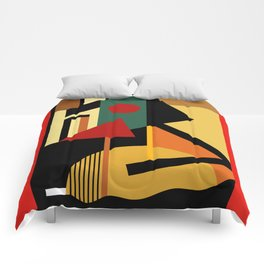THE GEOMETRIST Comforters