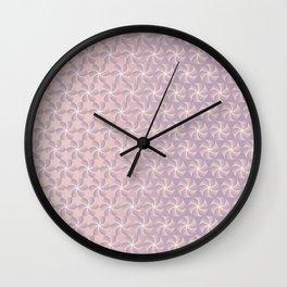 Weightless powder Wall Clock