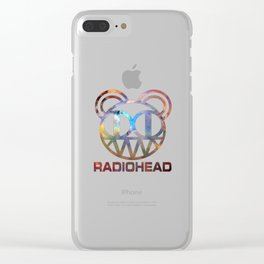 Radio Head Clear iPhone Case