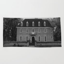 Colonial Williamsburg Capital Beach Towel