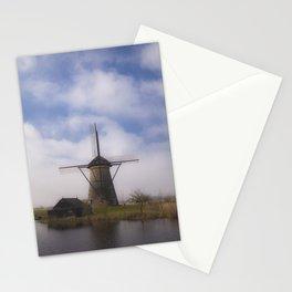 Kinderdijk Windmill III Stationery Cards