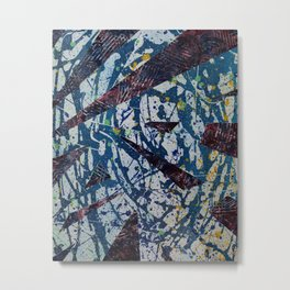 Abstract #2 Metal Print