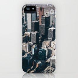 Skyscrapers of Toronto iPhone Case