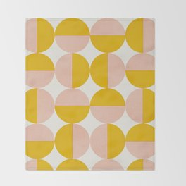 Abstraction_Circles_Art Throw Blanket