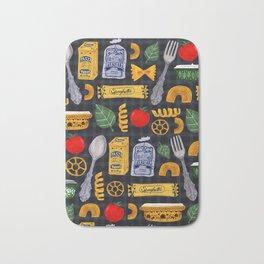 Vintage macaroni pattern Bath Mat