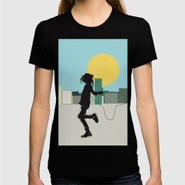 Spring in the city T-shirt