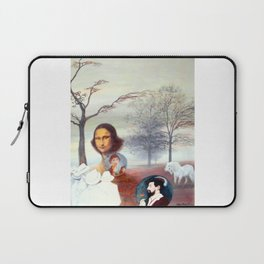 Mona Lisa and Friends Laptop Sleeve
