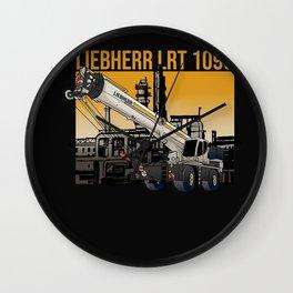 Liebherr LRT 1090 Wall Clock