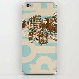 Come Ride iPhone Skin