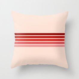"Red Rainbow ""Love"" Throw Pillow"