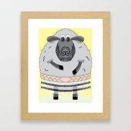 Mr Hipi (mellow yellow) Framed Art Print
