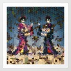Geishas Art Print