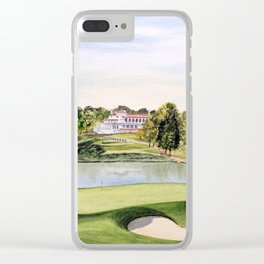 The Congressional Golf Course 10th Hole Clear iPhone Case