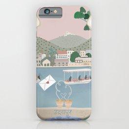Udaipur love iPhone Case