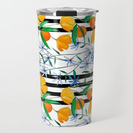 August Stripe Travel Mug
