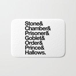 Stone & Chamber & Prisoner & Goblet & Order & Prince & Hallows Bath Mat