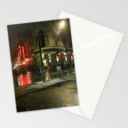 Snowing in London Stationery Cards