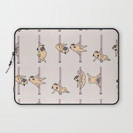 Pugs Pole Dancing Club Laptop Sleeve
