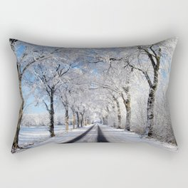 Winter-avenue Rectangular Pillow