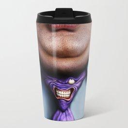 Man Fat and Tie Travel Mug