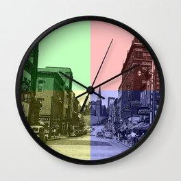 Baltimore St., Cumberland, Md. Wall Clock