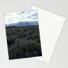 Sunrays at Mono Lake Stationery Cards