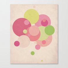Balloons//Five Canvas Print