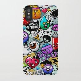 graffiti fun iPhone Case