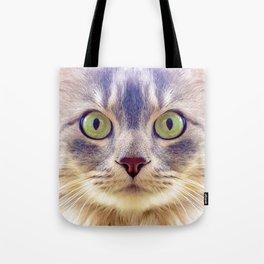 Meowface Tote Bag