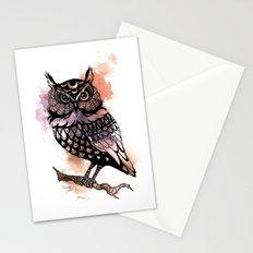 Owl Splash Stationery Cards