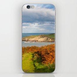 Porth Wen, White Bay, Llanbadrig, Anglesey, Wales, United Kingdom, UK iPhone Skin