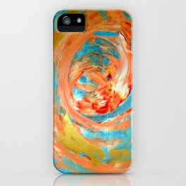 Abstract (Koi Fish) iPhone Case