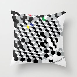 Functional emotional Throw Pillow