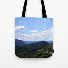 Over the valley.... Tote Bag