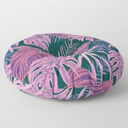 Pink Psychedelic Paradise Floor Pillow