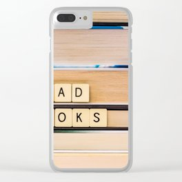 Read Books Clear iPhone Case