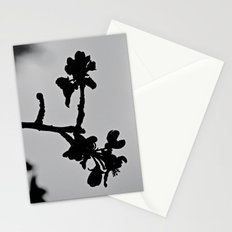 Blooming Silhouette Stationery Cards