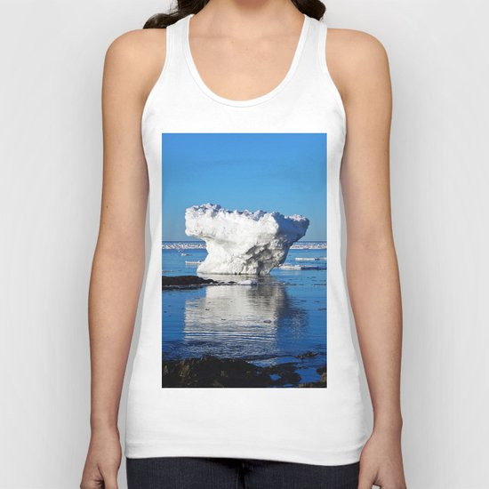 Iceberg in the Shallows Unisex Tank Top