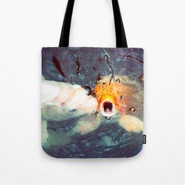 Koi Closeups #1 - Fish Kiss Tote Bag