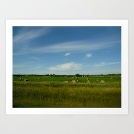 Summertime in WaterValley Art Print