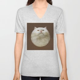 Round Cat - Yom Unisex V-Neck