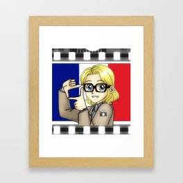 Chibi Cine-France Framed Art Print