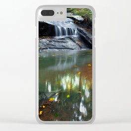 The Joy of the Seasons Clear iPhone Case