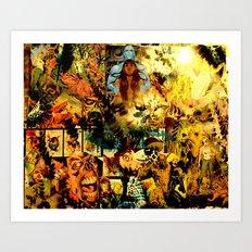 AJ Art Print