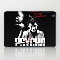 psycho iPad Cases featuring Psycho by PsychoBudgie