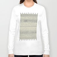 rug Long Sleeve T-shirts featuring Rug by Rebecca Zablocki