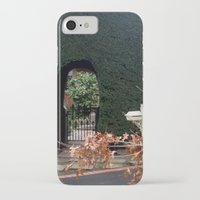 aelwen iPhone & iPod Cases featuring Behind the Gate by Chris' Landscape Images & Designs