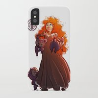 brave iPhone & iPod Cases featuring Brave by Samanthadoodles